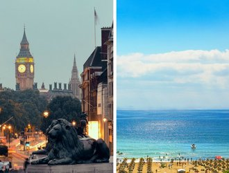 The price gap: one night in London vs a long weekend in Bulgaria