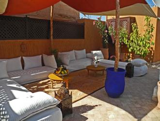 An interview with Linda Lyons who has a riad in Marrakech, Morocco
