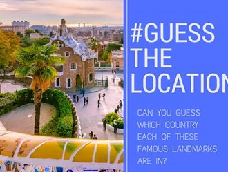 Can you guess all 9 of these locations?