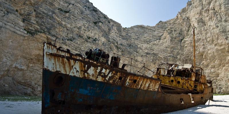 Seven haunting shipwrecks