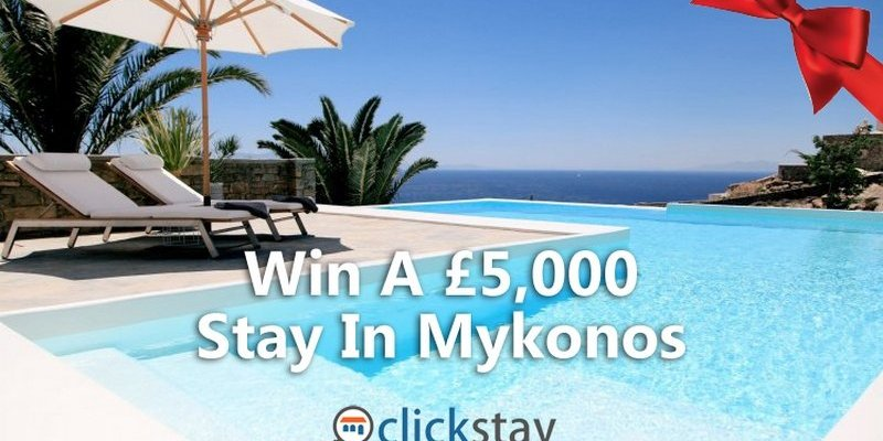 #ClickSleigh – Win A £5,000 Stay In Mykonos
