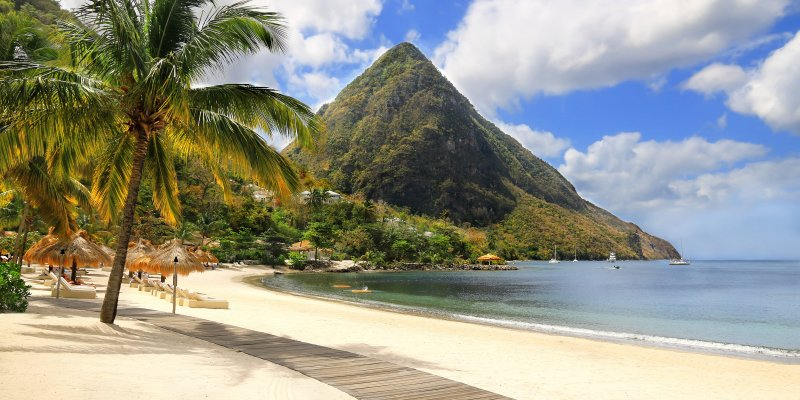 The 5 Best Beaches In Saint Lucia