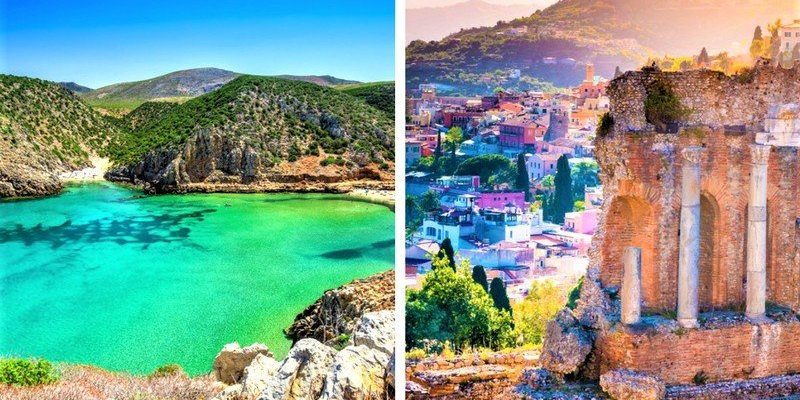 A Tale of Two Sisters: Sardinia and Sicily