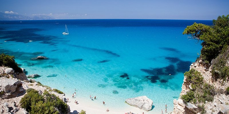 Beautiful beach in Sardinia, Italy