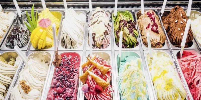 Popular Italian Destinations As Gelato Flavours