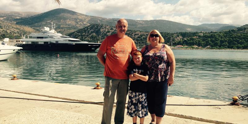 Owner Interview: Sharon talks about why she loves Kefalonia