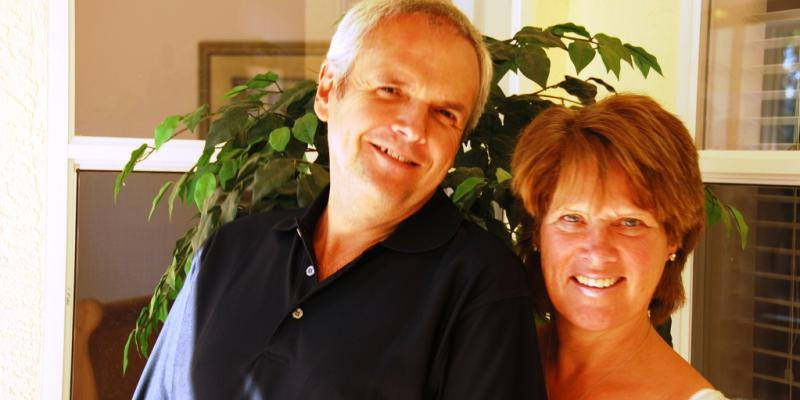 An interview with Ross and Sally-Ann Thomasson, owners of a villa in Rotonda West, Florida