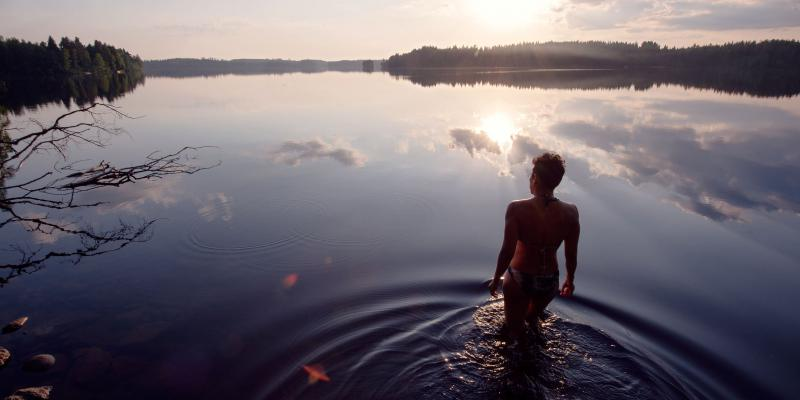 Wild Swimming in the mainstream