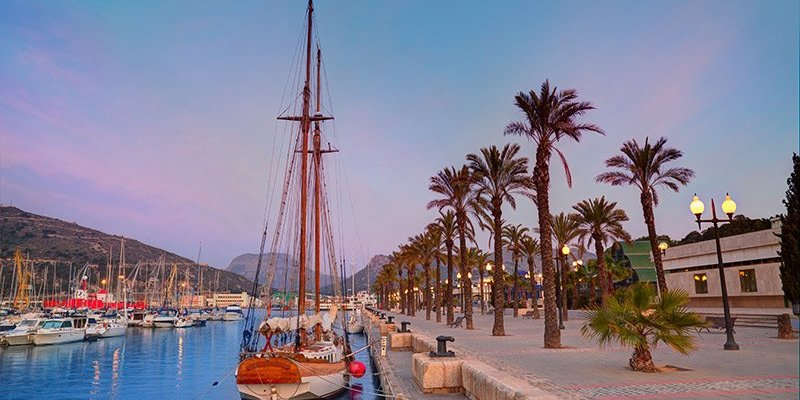 Holiday in Murcia - Cartagena Port