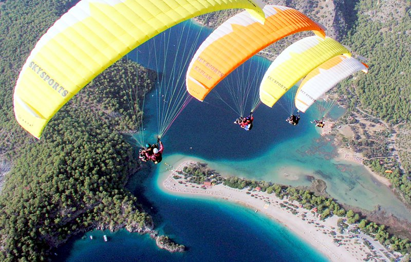 Paragliding Oludeniz Turkey Kids Family Holiday