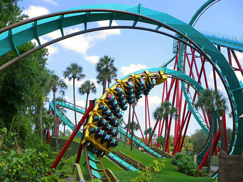 Busch Gardens Florida Holiday