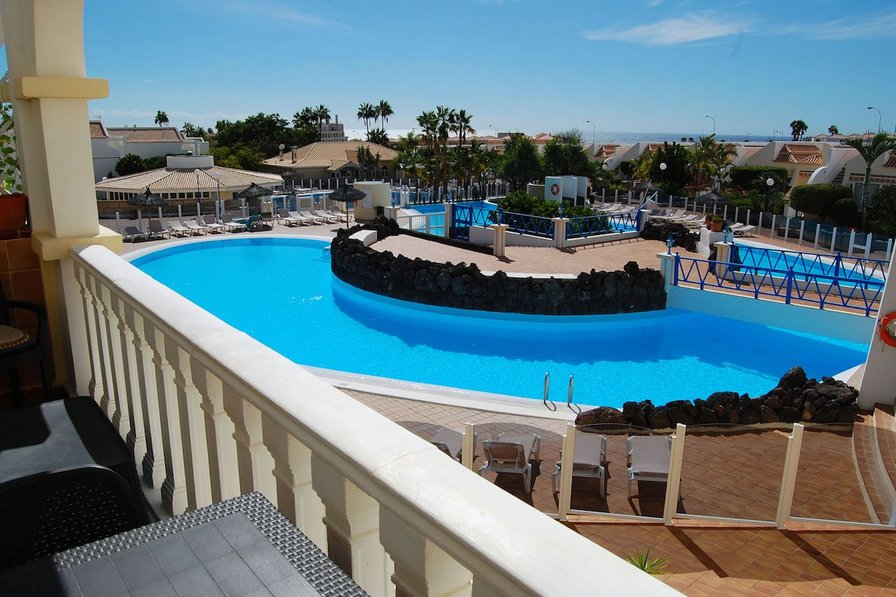 Two shared pools at this apartment in Tenerife
