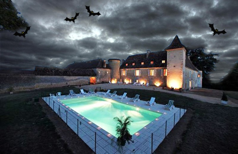 Chateau De La Rose France Villa Castle Halloween