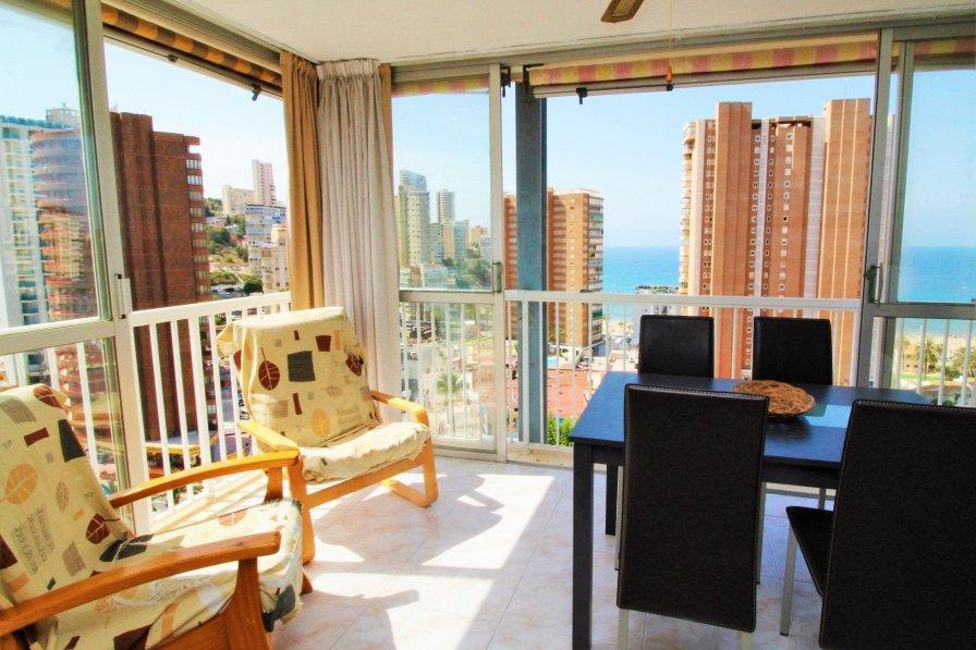 sunny apartment in Benidorm