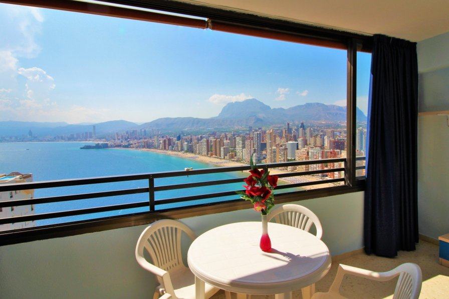 Benidorm coast view