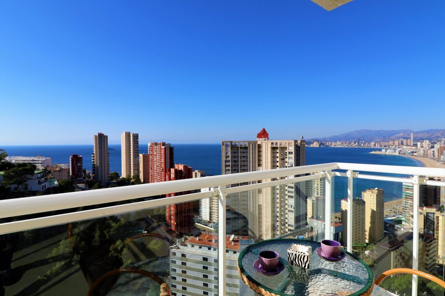 sea view in Benidorm