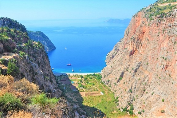 Butterfly Valley Beach, Fethiye
