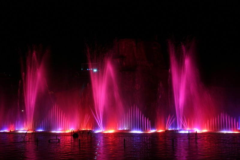 water show at Protaras