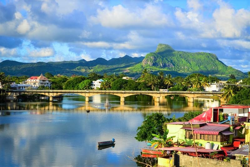 water & bridge Mauritius
