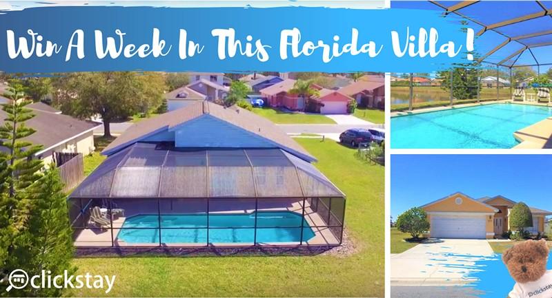 holiday Florida villa giveaway