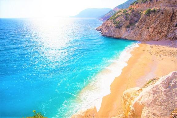 Kaputas Beach, Kalkan