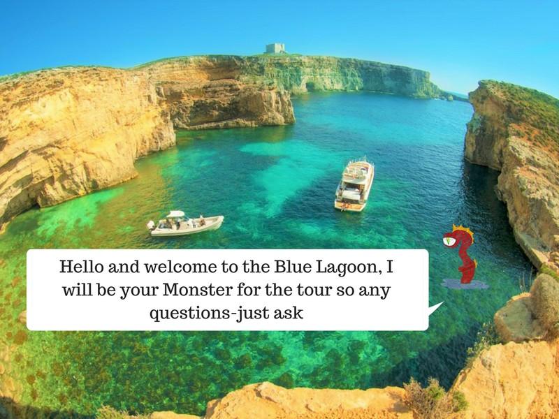 Blue Lagoon tour, Malta