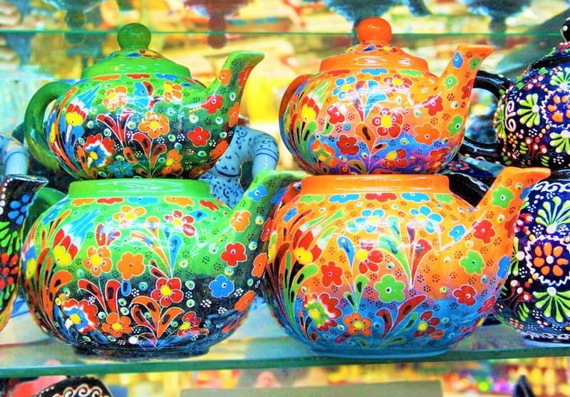 Turkish Cermic Teapots