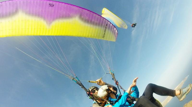 paragliding in Lanzarote