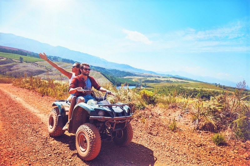 quad biking in Portugal