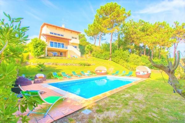 villa in Troia, Portugal with a private pool