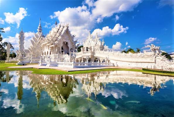 The White Temple Thailand