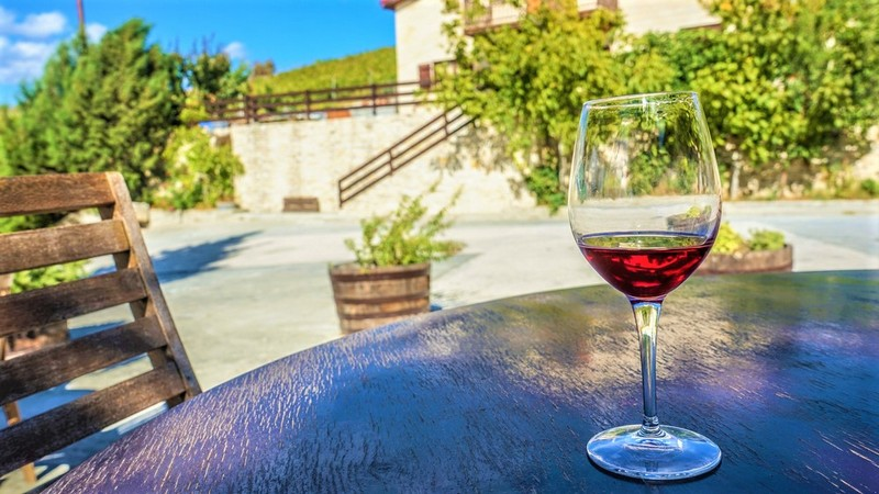 wine glass, red wine, cyprus