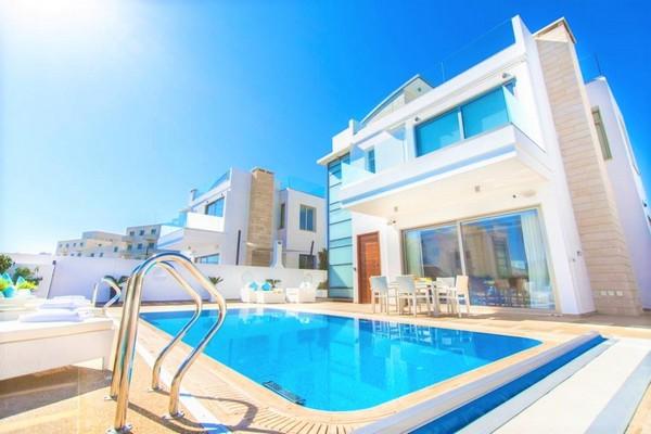 villa in Cyprus in February