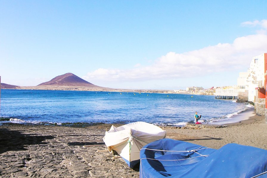 El Medano, Tenerife, great for water sports