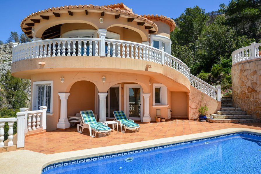 1: Villa Montana Vista in Calistros-Asegador, Spain