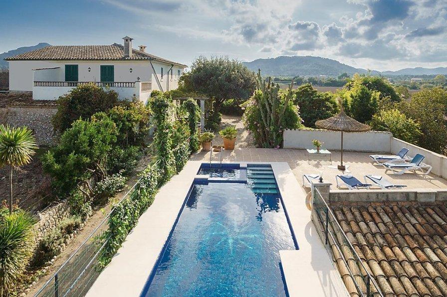 Villa with private pool in Alcudia, Majorca