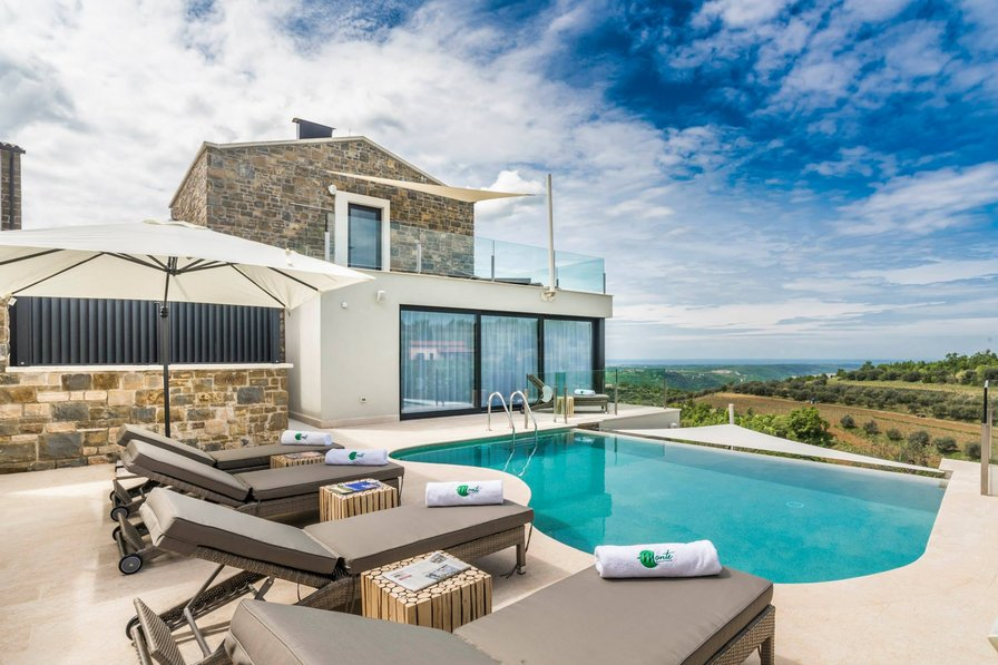 Residence Monte, 4 bedroom luxury villa in Istria, Croatia