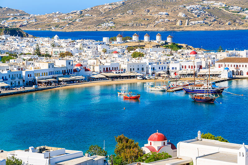 holidays to mykonos