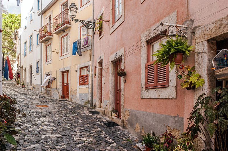 Street in Alfama