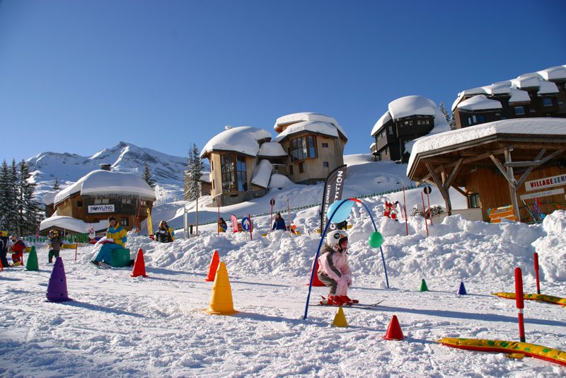 Avoriaz ski resort, France