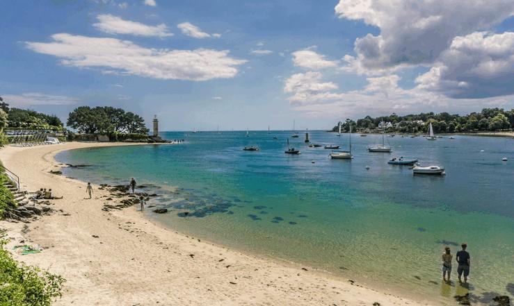 Benodet beach, France