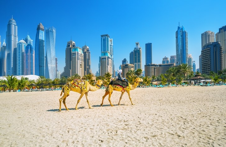 Jumeirah Public Beach in Dubai