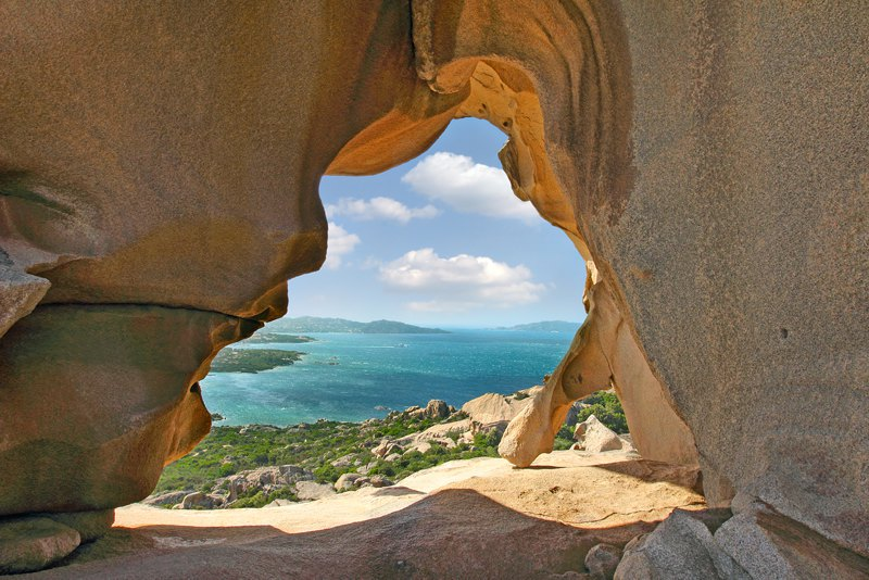 View from Bear Rock Sardinia