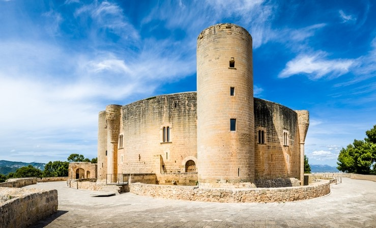 Bellver Castle in Palma, Majorca