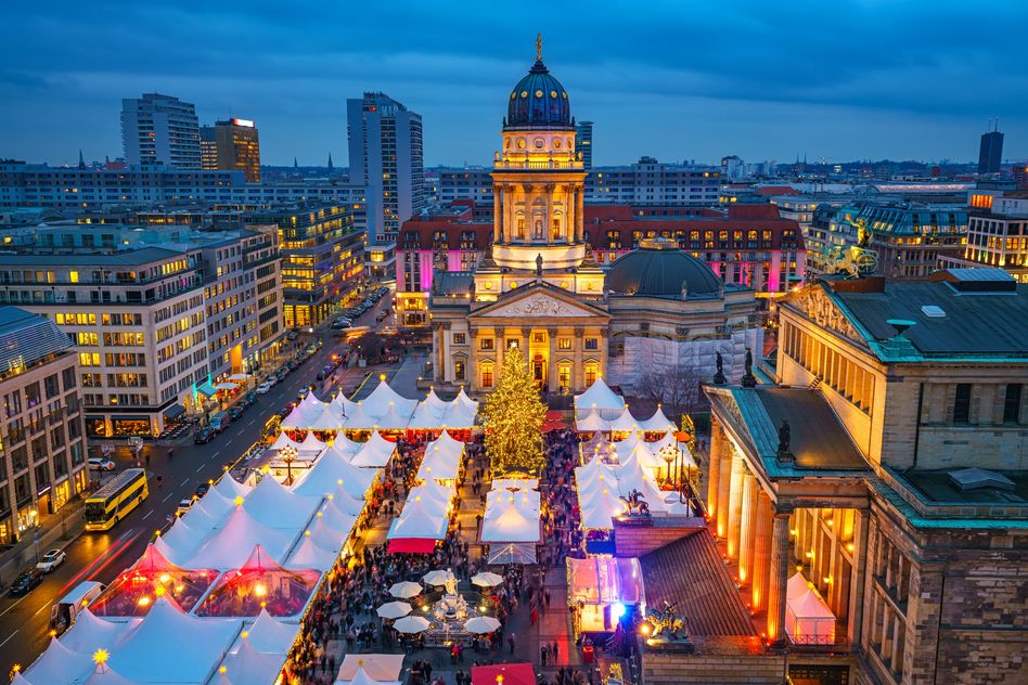 Berlin at Christmas
