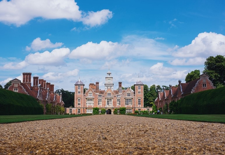 Blickling Hall in Norfolk