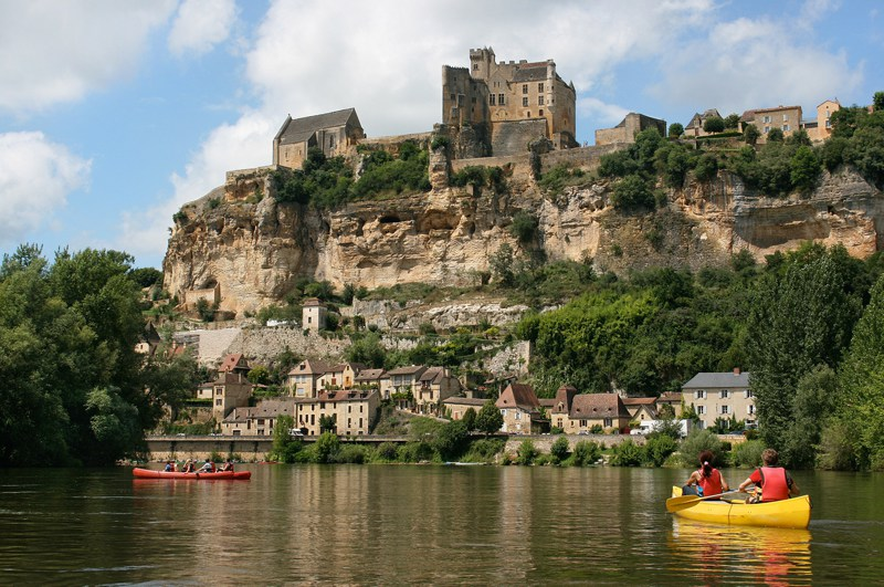 Canoeing Dordogne France