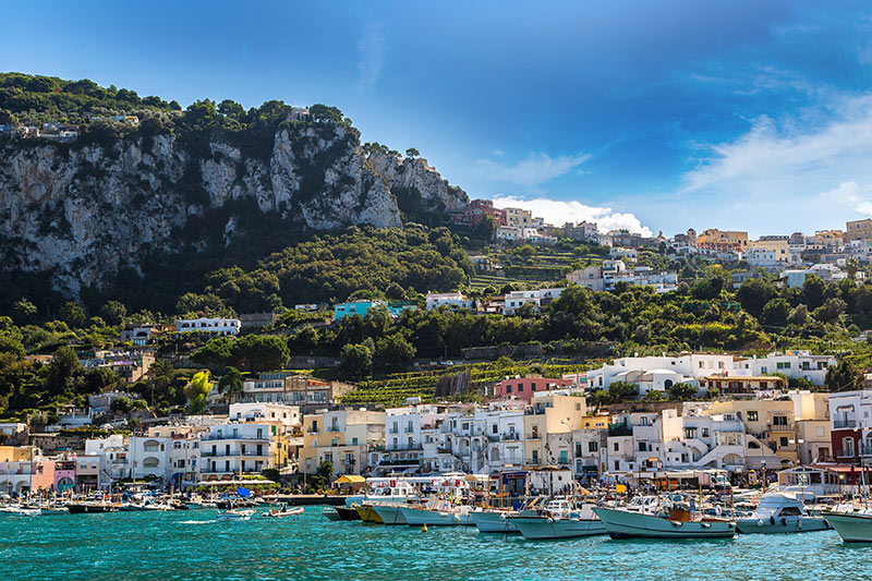 Capri in Naples, Italy