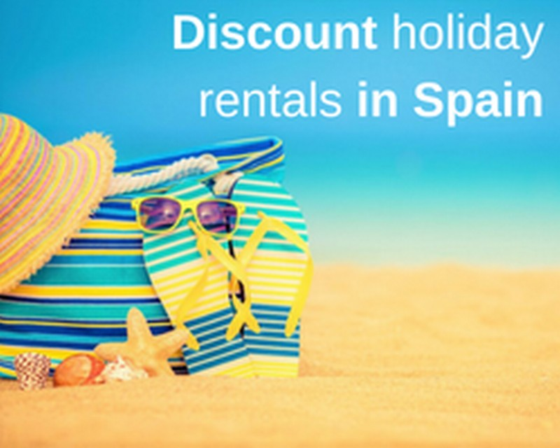 Discount holiday rentals in Spain