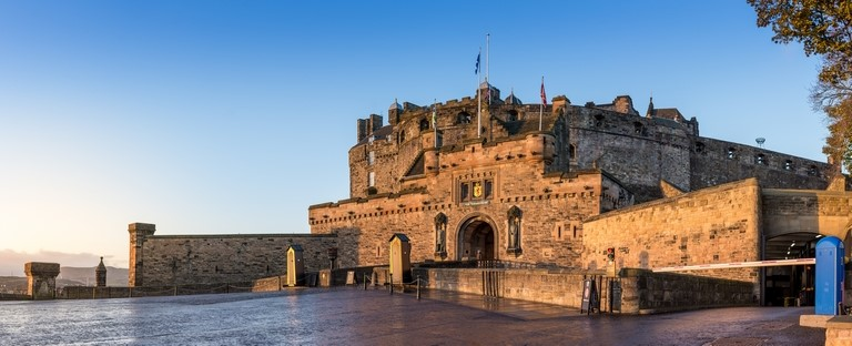 Edinburgh Castle in Edinburgh, Scotland